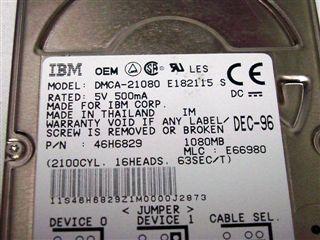 DMCA-21080 IBM DMCA-21080 IBM DMCA-21080